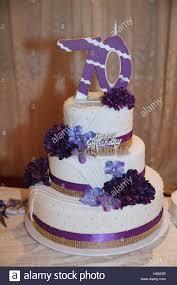 70th Birthday Cake Stock Photos 70th Birthday Cake Stock Images