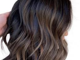 Medium Length Brown Hair With Light Brown Highlights