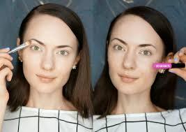 no makeup makeup challenge brows