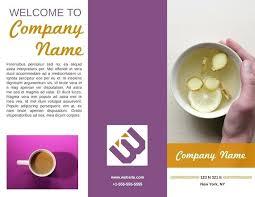 6 Sided Brochure Template 6 Sided Brochure Template 2 Panel For Resume Cover Letter 3 Column