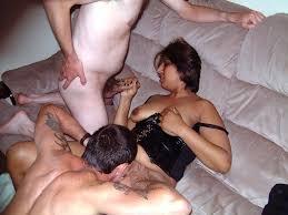 Asian milf english threesome