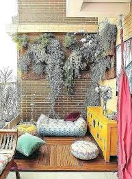 patio wall decor ideas balcony decoration elegant outdoor decorative deco