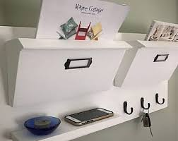 Coat Rack Mail Organizer Entryway Organizer Etsy 50