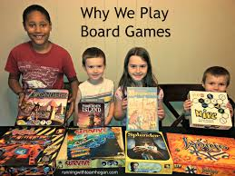 Image result for kids playing board games