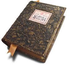 antique book with secret partment