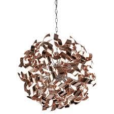 lyndsay 6 light ceiling light rose gold