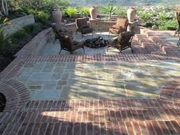 backyard patio remodel with the installation of flagstone pavers brick borders when installing flagstone and other masonry for exterior areas it is