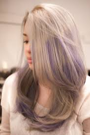 Grey X Purple Hair With Salon