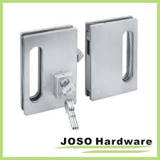 china brush satin frameless glass door lock for double doors gdl001b china lock door lock