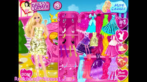 barbie dress up games for girls and kids youtube