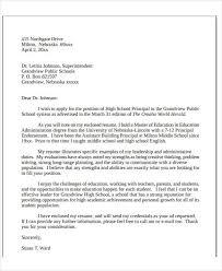 School Administrator Cover Letter 22 Education Resume Templates Pdf Doc Free Premium