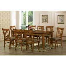 baxton studios megan 7 piece dining room set table and 6 chairs