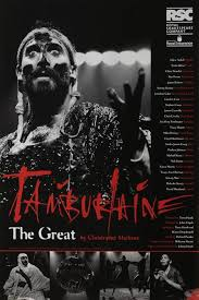 meet the contemporaries royal shakespeare company poster of tamburlaine the great by christopher marlowe 1993