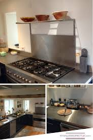 Make Stainless Steel Countertop 64 Best Our Stainless Steel Kitchens Images On Pinterest