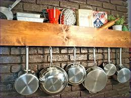 pot and pan hanging rack hanging pots and pans rack storage wall hanging pot rack saucepan pot and pan hanging