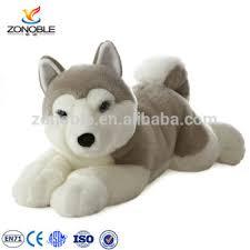 plush husky stuffed dog puppy dolls toys custom stuffed toy siberian husky puppy