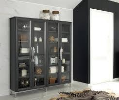 drawers black brown 3 white hemnes glass door cabinet bathroom storage cabinet with glass doors glass door cabinets storage hemnes glass