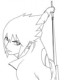 Naruto Coloring Pages Sasuke Cartoon Coloring Pages Of