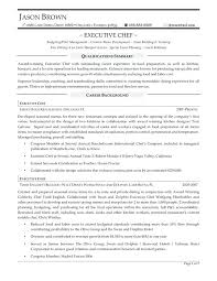 Culinary Resume Samples Chef Resume Objective Sample Culinary Arts ...