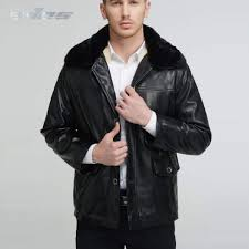 senarai harga eves autumn winter men leather jackets warm plus size velvet coat collar detatchable leisure men s jacket windproof pu leather terkini di