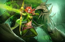 windrunner and treant protector by ningyee7 on deviantart