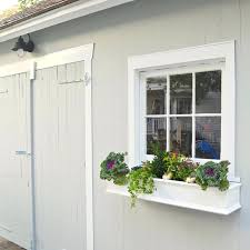 adding a window to a wall backyard shed makeover adding window boxes install window exterior wall