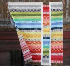 How to Make a Jelly Roll Quilt: 49 Easy Patterns | Guide Patterns & Jelly Roll Baby Quilt Adamdwight.com