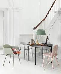 nordic furniture design. inspiration playful color combination muuto stunning dining space in pastel colours scandinavian nordic furniture design o