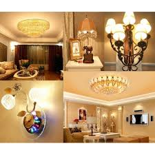 4 pack 60 watt equivalent dimmable b12 decorative candle led light bulb with daylight glow effect
