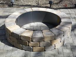 pavestone fire pit kit pavestone fire pit fire pit kit stone