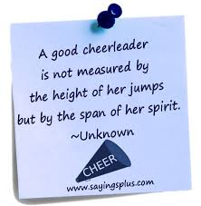 Cheerleading Quotes Impressive The Best Cheer Quotes Of All Time