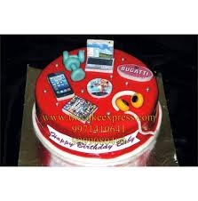 Boyfriend Birthday Cake Music Lover Cakes Cake Express Noida Cake