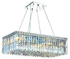 rectangular shaped chandelier rectangle crystal architecture chandeliers
