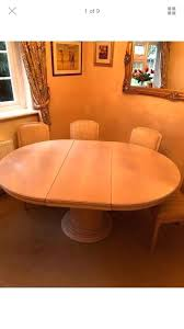 solid wood round extendable dining table details about solid wood round extendable dining table and 6