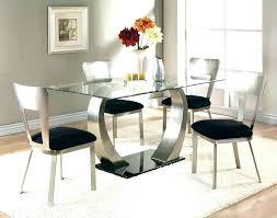 small glass kitchen table tables and chairs round dining set room rou round glass dining table