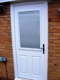door blinds. Contemporary Door This White Veka Composite Door Fitted To Our Clients Home In The Butlers  Leap Area Of Rugby Incorporates A Venetian Blind Encapsulated Within Insulated  On Door Blinds O