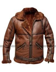 Raf Jacket Size Chart Raf British Shearling Flight Aviator Brown Jacket