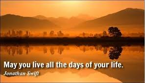 Famous Short Life Quotes Fascinating Famous Short Life Quotes May You Live All The Days Of Your Life By