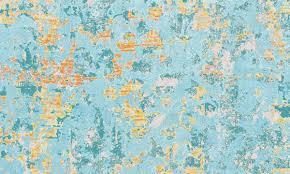 <b>Abstract</b> Impressionism Vinyl Kitchen <b>Floor Mat</b>