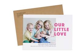 Printed Birth Announcement Whcc White House Custom Colour Press Printed Greeting Cards