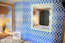 Master Bedroom Wallpaper Another Amazing Rv Update In The Master Bedroom Organizing Made