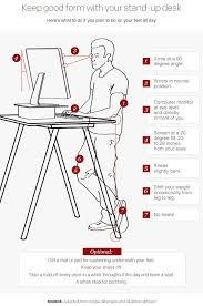 25 best standing desk height ideas on standing desk popular of standing desk ergonomics