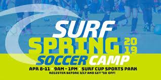 Spring – Club Surf Soccer Diego 2019 Camp San