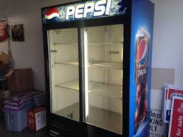 Pepsi Vending Machine Commercial Adorable PepsiCoca Cola True GDM48 Reach In Beverage Cooler EBay