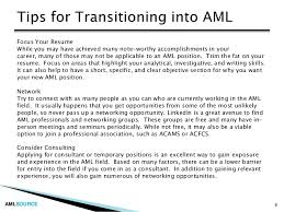 7; 8. AMLSOURCE Focus Your Resume ...