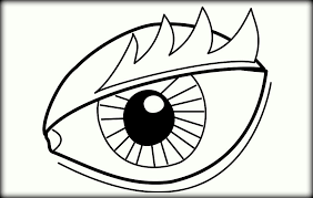 Small Picture Eyes Coloring Pages Color Zini