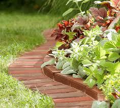garden materials. Garden Edging Brick Materials B