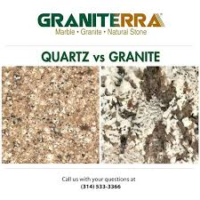 quartz or granite countertops granite countertops vs quartz countertops graniterra st louis quartz countertops granite