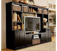 Wall Units, Pics Of Entertainment Centers Entertainment Center Ideas For  Small Spaces Black Lacquered Tv