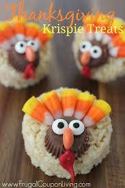 thanksgiving rice krispie treats. Modren Thanksgiving TurkeyThanksgivingKrispieTreatsFrugalCouponLiving Intended Thanksgiving Rice Krispie Treats
